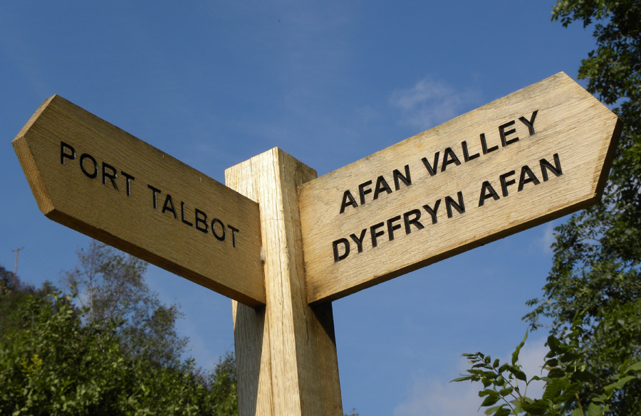Near to Cymmer and Afan