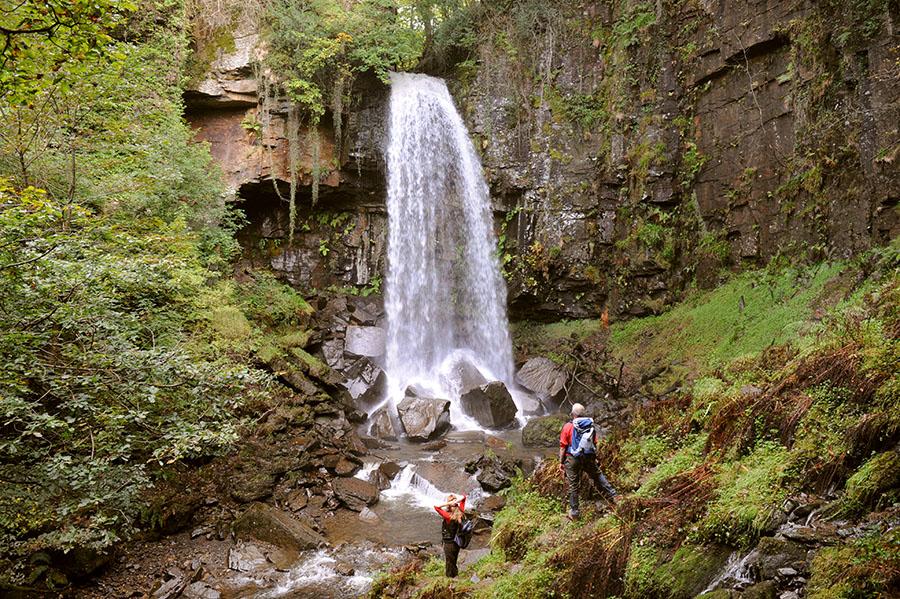 Vale of Neath Waterfalls