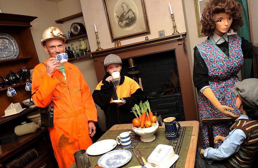 Miners Museum Tea