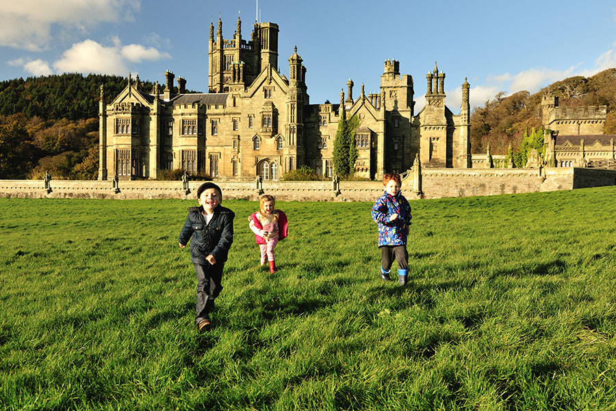 Margam Castle Children