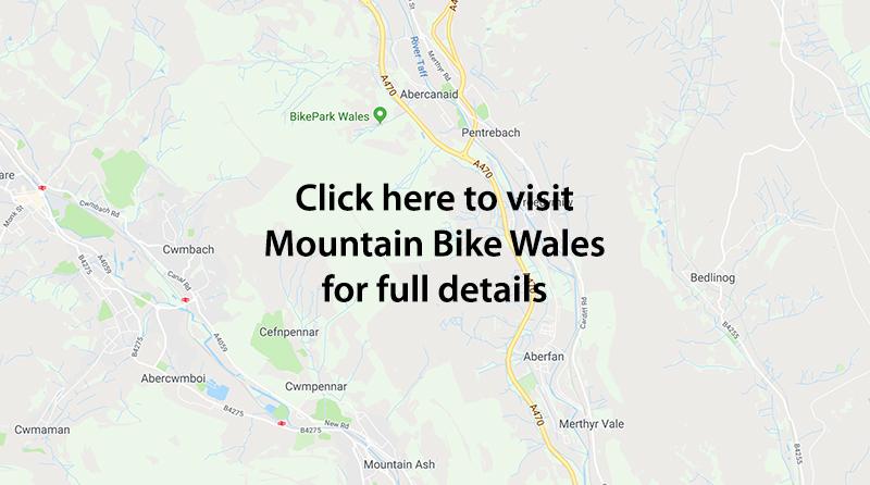 Bike Park Wales Map