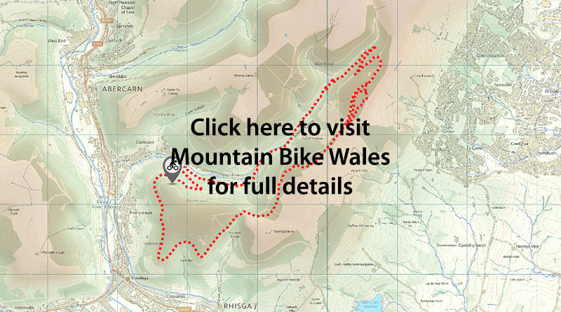 Cwmcarn Trail Map