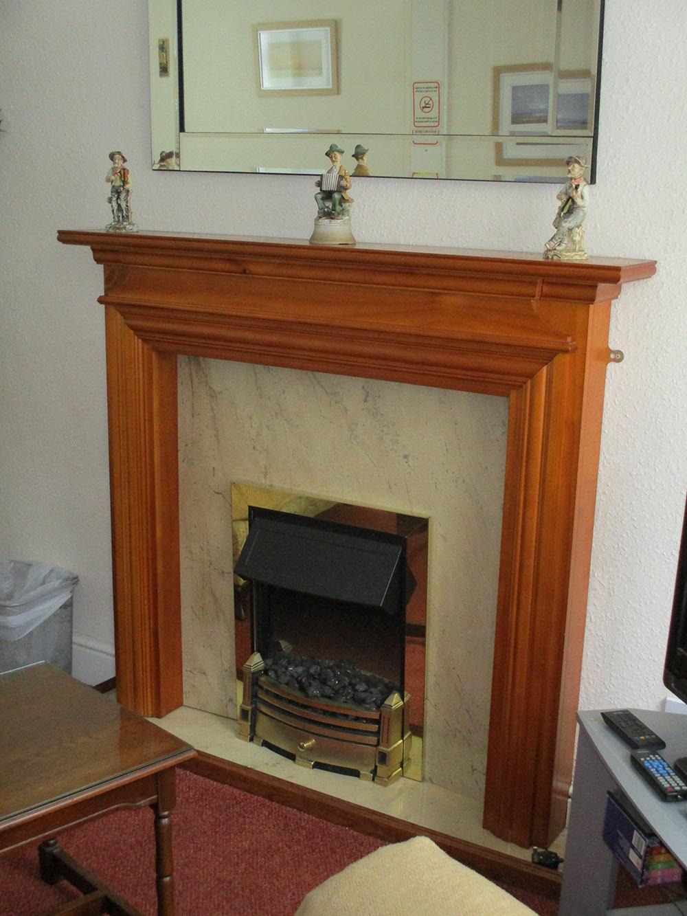 Glyndwr fireplace