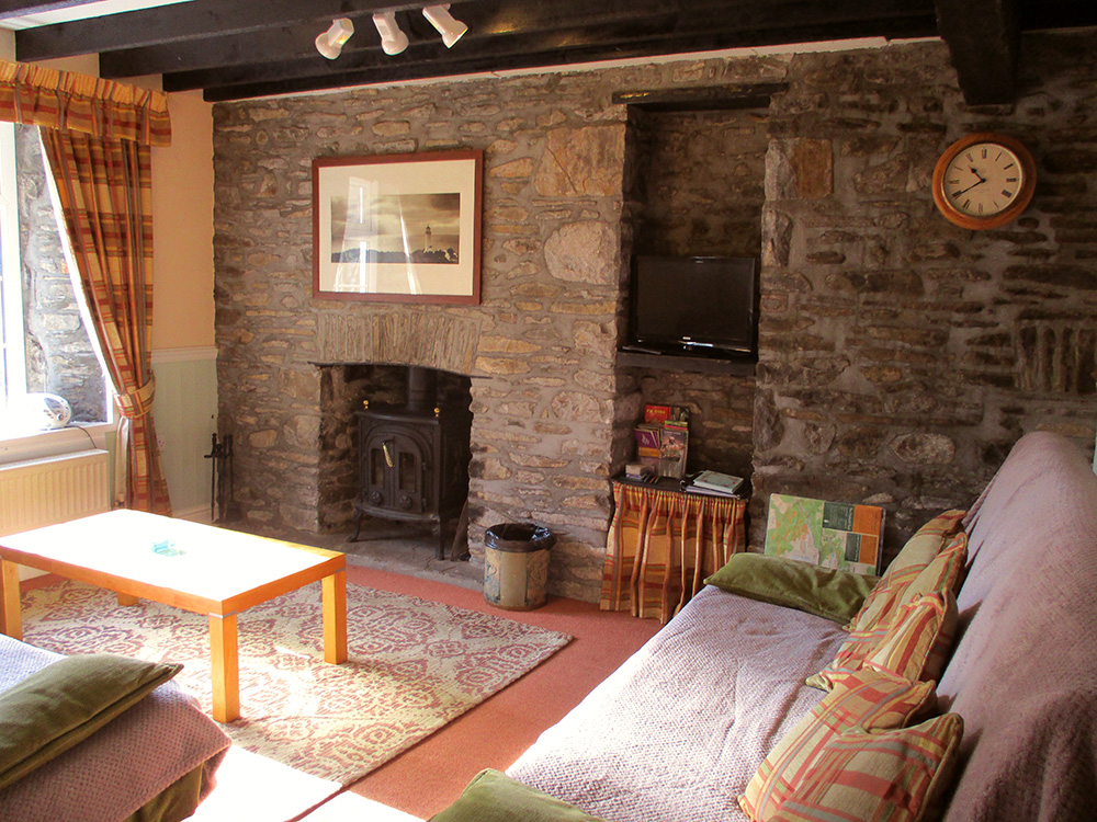 Rose Cottage cosy lounge