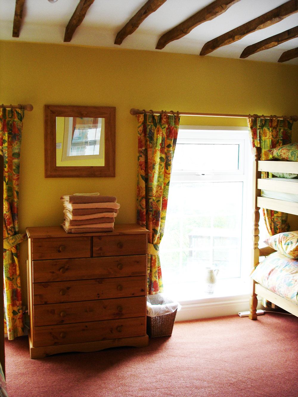 Rose Cottage bedrooms
